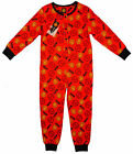 Boys MANCHESTER UNITED MUFC Logo Sleepsuit 5-6 Years SALE