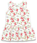 Girls Toddler Flowers Sleeveless Summer Dress 4 Years SALE