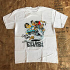 Vtg CIRCLE JERKS 1988 THE RETURN OF ELVIS TOUR T-SHIRT PUNK BLACK FLAG Reprint