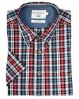 Bar Harbour Premium Cotton Short Sleeved Checked Smart Casual Shirt (0142)