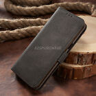 Vintage Leather Magnet Flip Card Wallet Cover Case For Samsung Galaxy S8 S7 S001
