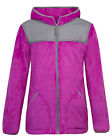 Girls FREE COUNTRY Pink, Purple or Blue ButterPile Full Zip Hooded Jacket NEW