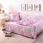 Canvas 100% Cotton Slipcover Sofa Cover lUSl for 1 2 3 4 seater Floral cyzl