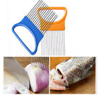 Vegetable Fruit Beef Onion Slicer/Cutter/Holder - Stainless Steel