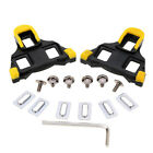 Universal 2PCS Bicycle Cycling MTB Road Bike Self-locking Pedal Cleats Plywood