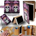 Leather Flip Card Wallet Stand Cover Case For Various Kyocera SmartPhones+ Strap