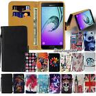 Leather Flip Card Wallet Stand Cover Case For Various Samsung Galaxy SmartPhones