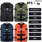 BTS X AGATHA Travel Edition Canvas Backpack Rucksack Bookbag Knapsack for Unisex