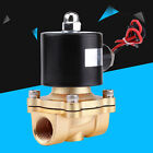 "1/2"" BSPP DC 12V Electric Solenoid Valve Normally Closed fr Diesel Gas Water Air"
