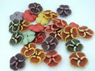 22mm 20/50/80pcs ASSORTED ANCIENT COLORS ACRYLIC FLOWER BEADS MY253