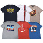 Tommy Hilfiger T-shirt Mens Graphic Tee Crew Neck Flag Logo Short Sleeve New Nwt