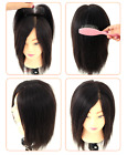 "Wholesale 8"" Real Human Hair Top Pieces Clip in Toppers for Thinning Hair 7x9cm"