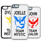 POKEMON GO TRAINER PERSONALISED MOBILE PHONE CASE COVER APPLE IPHONE SAMSUNG