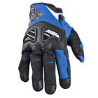 Speed & Strength Mens Run With The Bulls Leather Textile Gloves