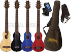 Washburn RO10 Rover Steel String Acoustic Travel Guitar Pack