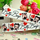 "BETTY BOOP 7/8"" 5/10/25 Yards grosgrain hair bow ribbon $4.24 USD"