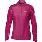 Asics Essentials Woven Ladies Wind Water Resistant Running Training Jacket Pink