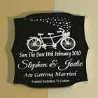 Save The Date - Laser Engraved & Cut Acrylic - Personalised Option 5 25 Pieces
