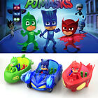 PJ Masks Toy Car Action Figure Catboy Owlette Glider Gekko Mobile 2017 Toys+Box