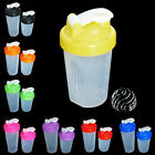 400/600ml Free Shake Protein Blender Shaker Mixer Cup Drink Whisk Ball Bottle