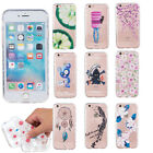 Shockproof Rubber Soft TPU Patten Case Cover For iPhone 7Plus Samsung S7 Edge