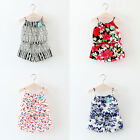 2PCS Toddler Kids Baby Girls Summer Outfit Clothes T-shirt Tops+Shorts Pants New