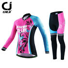 Women's Bike Clothing Kits Cycling Apparel Pants Breathable Pro Mountain Gear