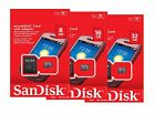 Внешний вид - SanDisk 8GB 16GB 32GB Micro SD SDHC Class 4 TF Flash Memory Card Adapter Lot
