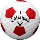 """NEW 2017"" CALLAWAY CHROME SOFT X SoftFast™ Core TRUVIS WHITE GOLF BALLS X 3"