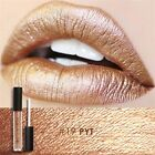 Metallic Velvet Lipstick Long Lasting Lip Gloss Liquid Matte Waterproof Makeup