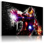 IRON MAN MARVEL AVENGERS Canvas Wall Art Abstract Picture Large SIZES  IM23