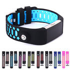 Sports Silicone Leather Replacement Watch Band Strap Fr Fitbit Charge 2 Bracelet