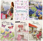 CUTE TRADITIONAL SPECIAL AUNTIE BIRTHDAY GREETING CARD VARIOUS DESIGNS 1STP&P