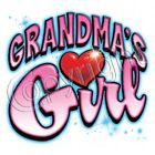 Grandma or Grandpa Girl Tshirt robber infant toddler youth baby shower US size11