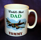 PERSONALISED WORLDS BEST DAD DADDY PA POP GRANDAD MUG FATHER'S DAY BIRTHDAY GIFT