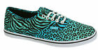 Vans Authentic Lo Lace Up Unisex Cheetah Zebra Plimsolls Trainers T9N9U0 B39B