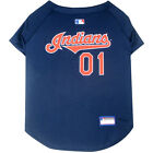 Cleveland Indians Pets First MLB Dog Pet Jersey (All Sizes)