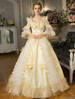 Women's white Victorian Vintage Palace Lolita short sleeve Bows Ball Gown Dress