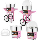 Electric Cotton Candy Sugar Floss Machine Maker Party Supply w/ Cover & Cart DIY