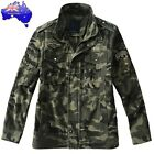 New Winter Men Coats Green Army Outerwear Men Military Tactical Camping Jacket