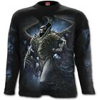SPIRAL DIRECT WINGED SKELTON Long Sleeve T-Shirt/Biker/Grim Reaper/Horror/Top