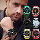 Fashion Men Sports Watch Analog Wrist Watch Stainless Steel Luxury Quartz Watch