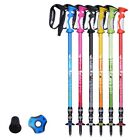 Внешний вид - Sports Carbon Fibre Anti Shock Walking Trekking Hiking Stick Pole Alpenstock