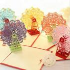 Lot 3D Pop Up Greeting Card Ferris wheel Easter Birthday Valentines Anniversary
