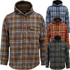 Wolverine Flannel Jacket Mens BUCKSAW BONDED Shirt Hooded Lined Jacket W1203770