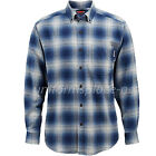Wolverine Shirt Mens Hammond Long Sleeve Flannel Plaid Button-down collar Shirts