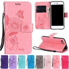 Wallet Flip Leather Stand Pattern Lanyard Case Cover For Huawei P8 P9 Lite