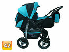 New Baby Pram Stroller Pushchair + Car seat 3in1 Carrycot Buggy Travel system
