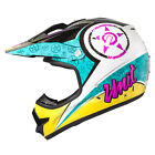 M2R X2.6 Linguistic PC-7 Pink/Yellow MX/Motorcross Helmet - New Product!!!