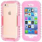 Waterproof Diving Shockproof Dirt Snow Proof Case Cover for iPhone 5 6S 7 7 Plus